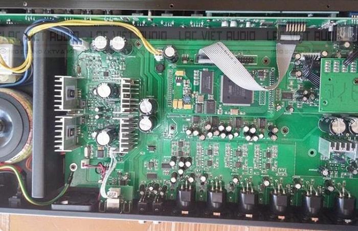 Chi tiết linh kiện bên trong sản phẩm PDCJ X5