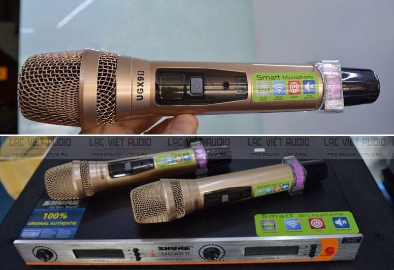 SHURE UGX có nhiều tính năng vượt trội mang lại chất lượng âm thanh xuất sắc