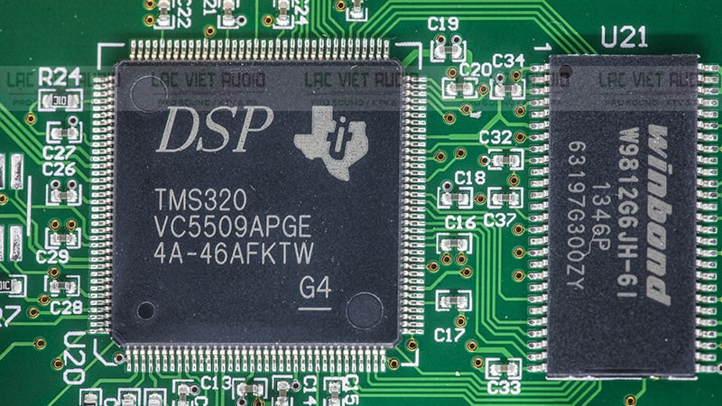 Trang bị chip xử lý DSP công nghệ cao