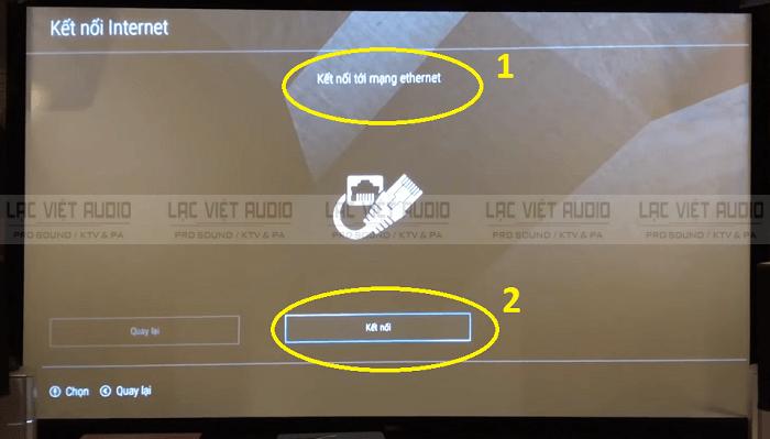 Cách chỉnh đầu karaoke Hanet bằng remote