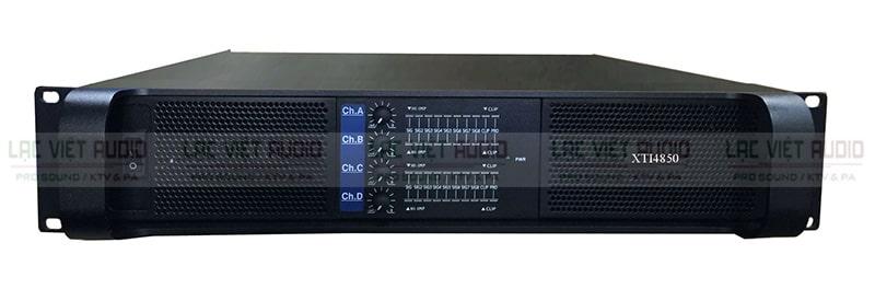 Cục đẩy công suất TCA XTI4850 thiết kế mạnh mẽ đầy tính thẩm mỹ