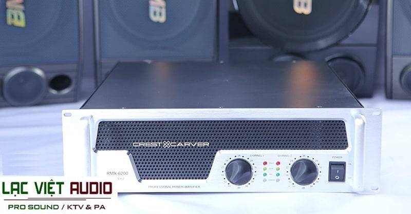 Cục đẩy CREST & CARVER RMX-6200 là giải pháp lý tưởng cho thiết bị khuếch đại âm thanh