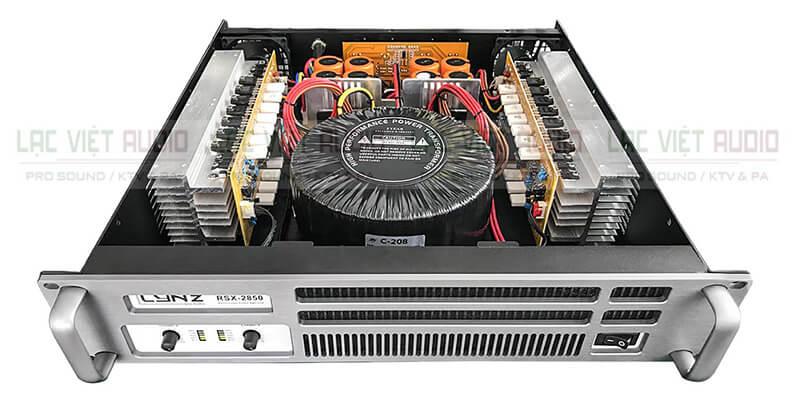 Cục đẩy công suất LYNZ làm từ những linh kiện chất lượng cao, có chọn lọc