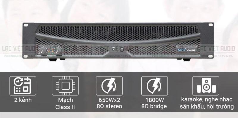 Cục đẩy công suất MZ-66 được nhiều quý khách hàng quan tâm tại Lạc Việt Audio