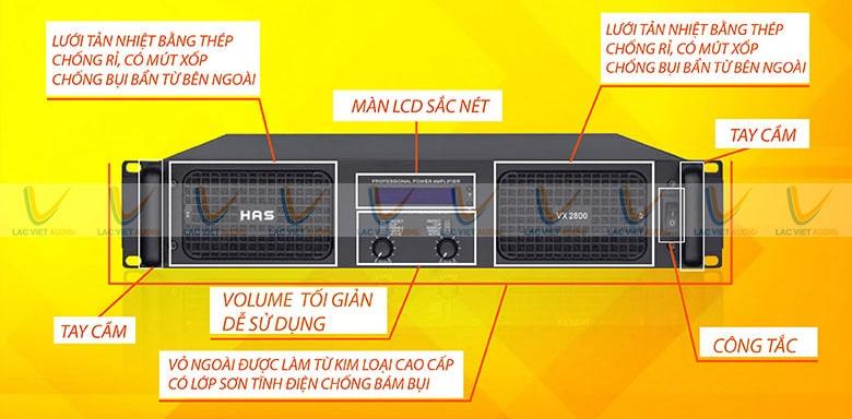 Người dùng dễ dàng theo dõi tình trạng hoạt động của cục đẩy nhờ có đèn tín hiệu và màn hình LCD