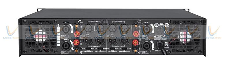 Dễ dàng phối ghép với các thiết bị âm thanh khác để tạo nên dàn âm thanh chuyên nghiệp