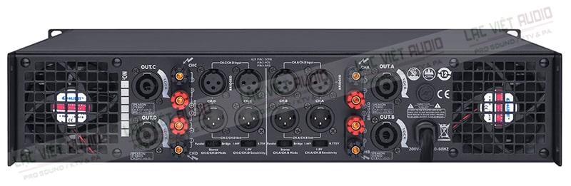 Cổng kết nối đa dạng nên được phối ghép để tạo thanh dàn âm thanh chuyên nghiệp