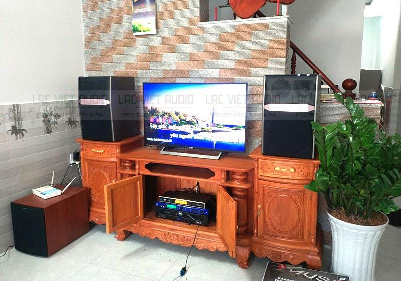 1 dàn karaoke nữa có dùng loa sub cho a Tuấn ở 270 Kim Giang, Hà Nội