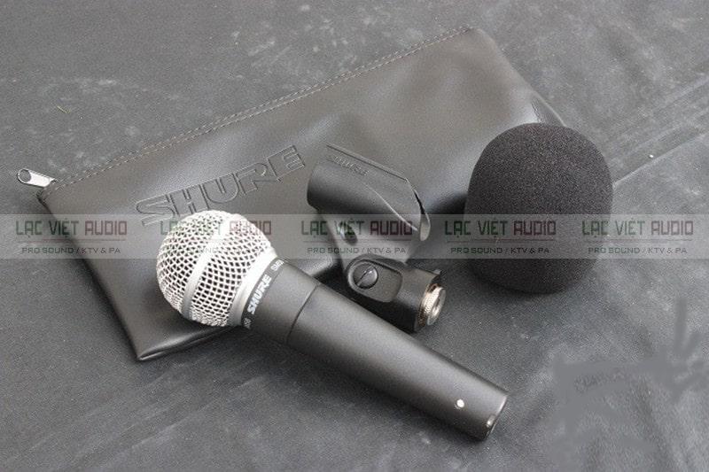 Vỏ đựng của sản phẩm Micro SM 58