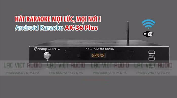 đầu karaoke Arirang AK-36 Plus