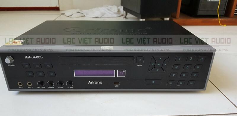 đầu Karaoke Arirang 3600S mặt trước