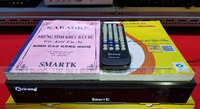 toàn bộ đầu Karaoke Arirang SmartK