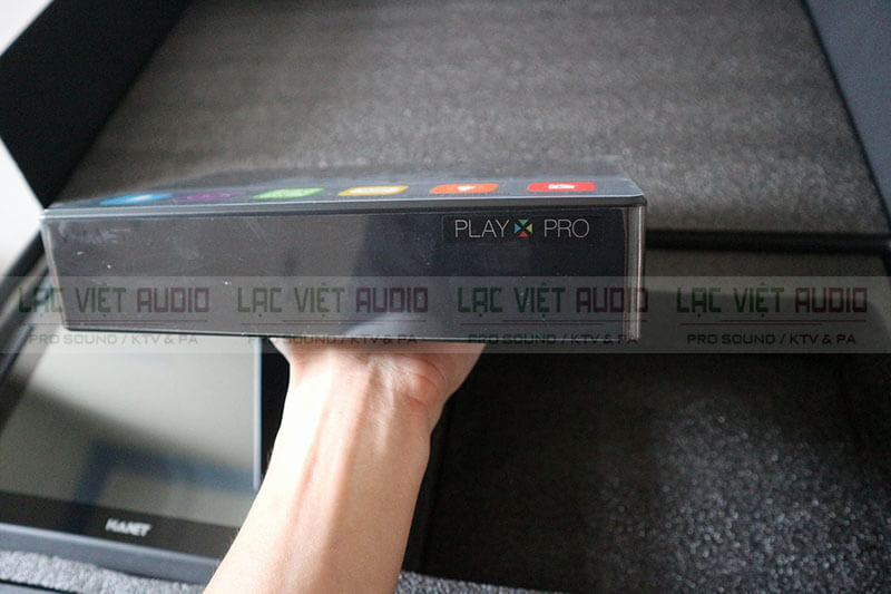 mặt trước đầu Karaoke Hanet PlayX Pro 4TB