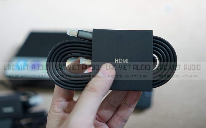 đầu karaoke Hanet HD 10S dây kết nối HDMI