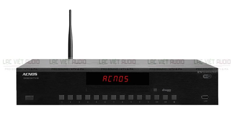 Lạc Việt Audio- chuyên kinh doanh đầu karaoke Acnos chính hãng, chất lượng cao