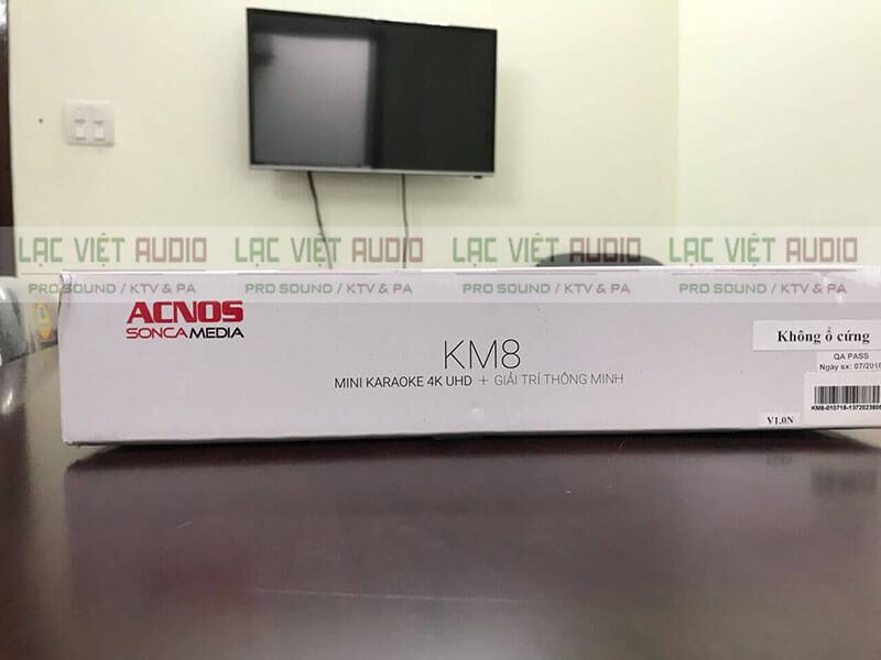hộp đầu karaoke Acnos KM8