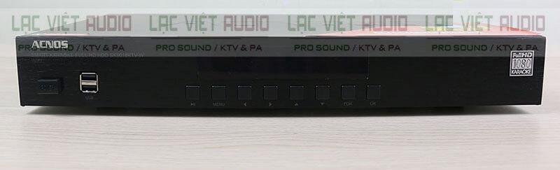 đầu Karaoke Acnos SK9018KTV-W mặt trước