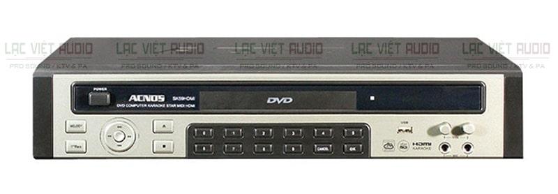 Đầu Karaoke Acnos là sản phẩm được nhiều người tiêu dùng tin tưởng và sử dụng