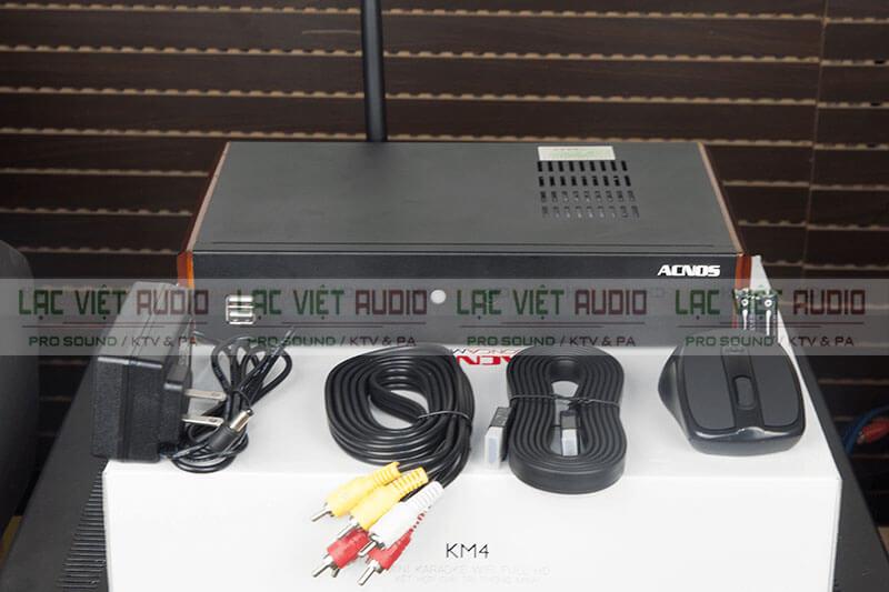 Trọn bộ đầu karaoke Acnos KM4