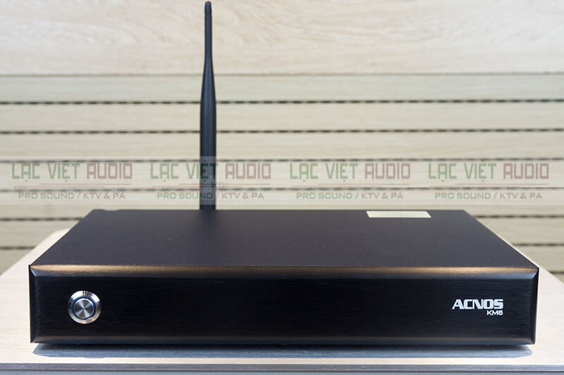 Mặt trước đầu karaoke Wifi Acnos KM6