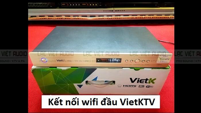 kết nối wifi cho đầu Vietktv