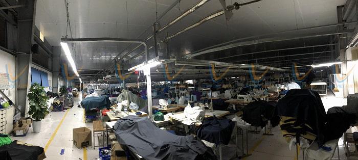 Xưởng May công ty Sao Mai tại Hải Phòng
