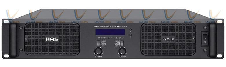 Cục đẩy HAS VX2800 được nhiều quý khách hàng quan tâm tại Lạc Việt Audio
