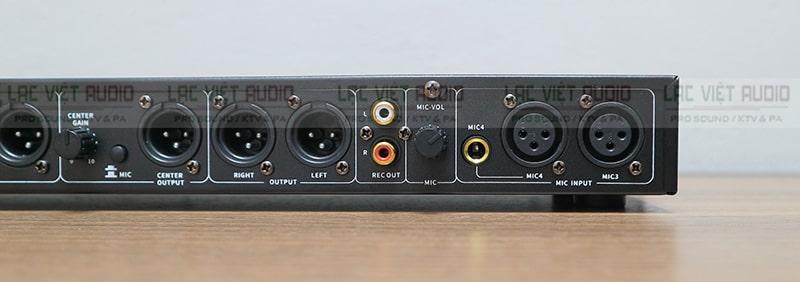 Hình ảnh mặt sau vang cơ King KX50 Pro
