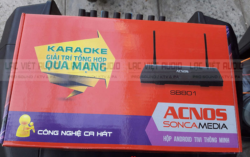 Hộp đầu Karaoke Acnos SB801