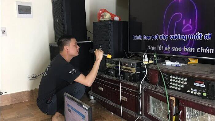 Kiểm tra lại quá trình kết nối loa và amply