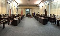 Lắp đặt phòng họp cho Bộ Tư lệnh Vùng 1 Hải Quân Nhân dân Việt Nam