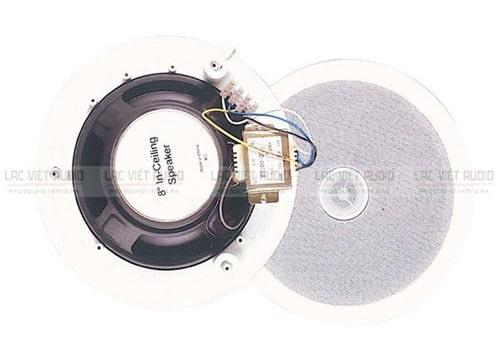 Mặt trước và mặt sau loa âm trần Prophon CS-802