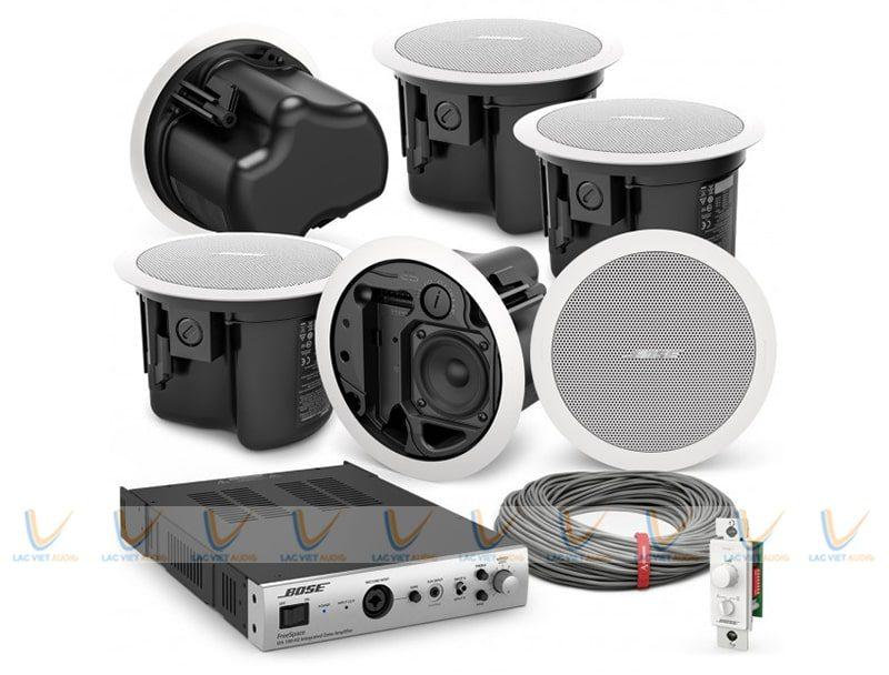 Hệ thống âm thanh khi kết nối với Bose FreeSpace FS2C