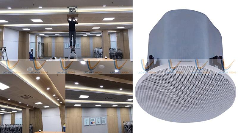 Dự án loa âm trần cho phòng họp lớn tại Thanh Khê, Đà Nẵng