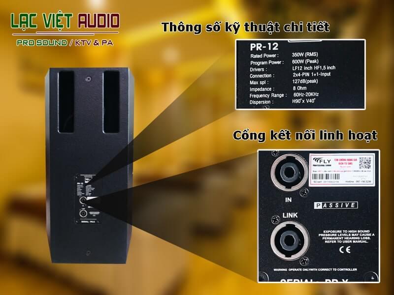 Loa karaoke Fly PR12