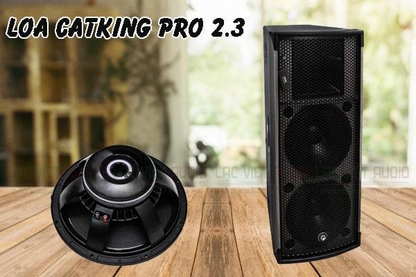 Thiết kế đẹp mắt, hiện đại của loa sân khấu CatKing Pro2.3