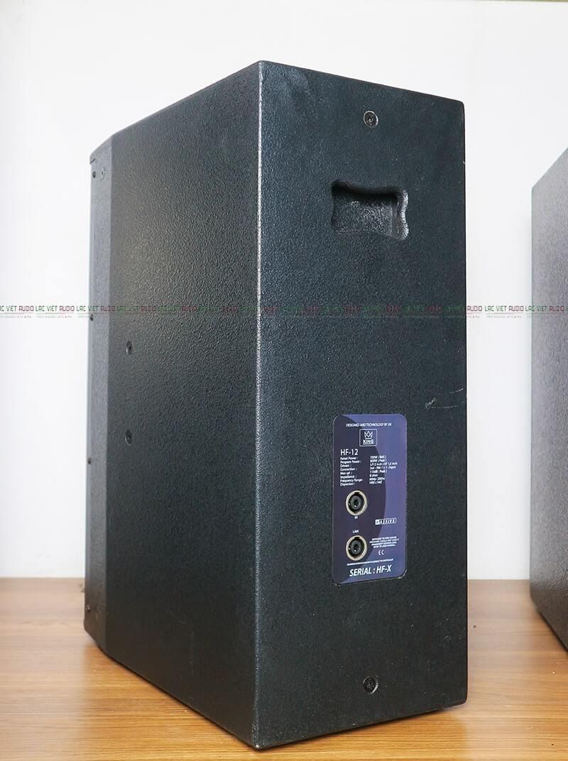 Loa Karaoke King HF12 mặt sau