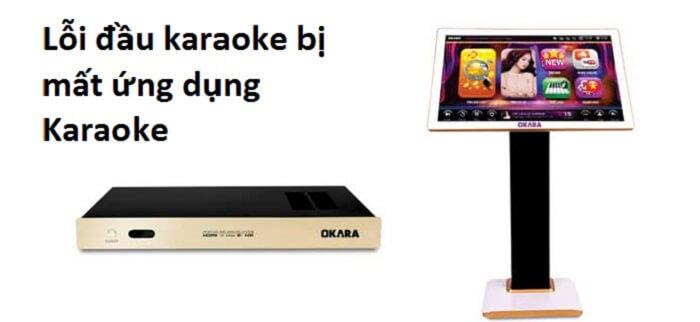 "Lỗi đầu karaoke bị mất ứng dụng ""karaoke"""