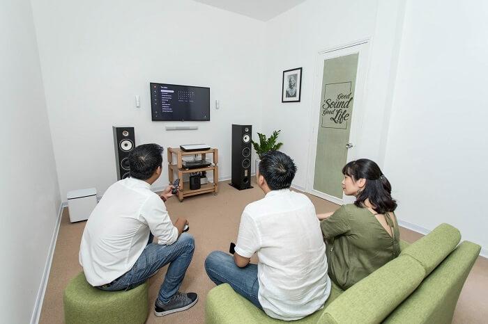 Lưu ý về khoảng cách kết nối tivi với đầu đĩa