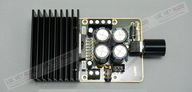 Trang bị mạch khuếch đại class AB cao cấp
