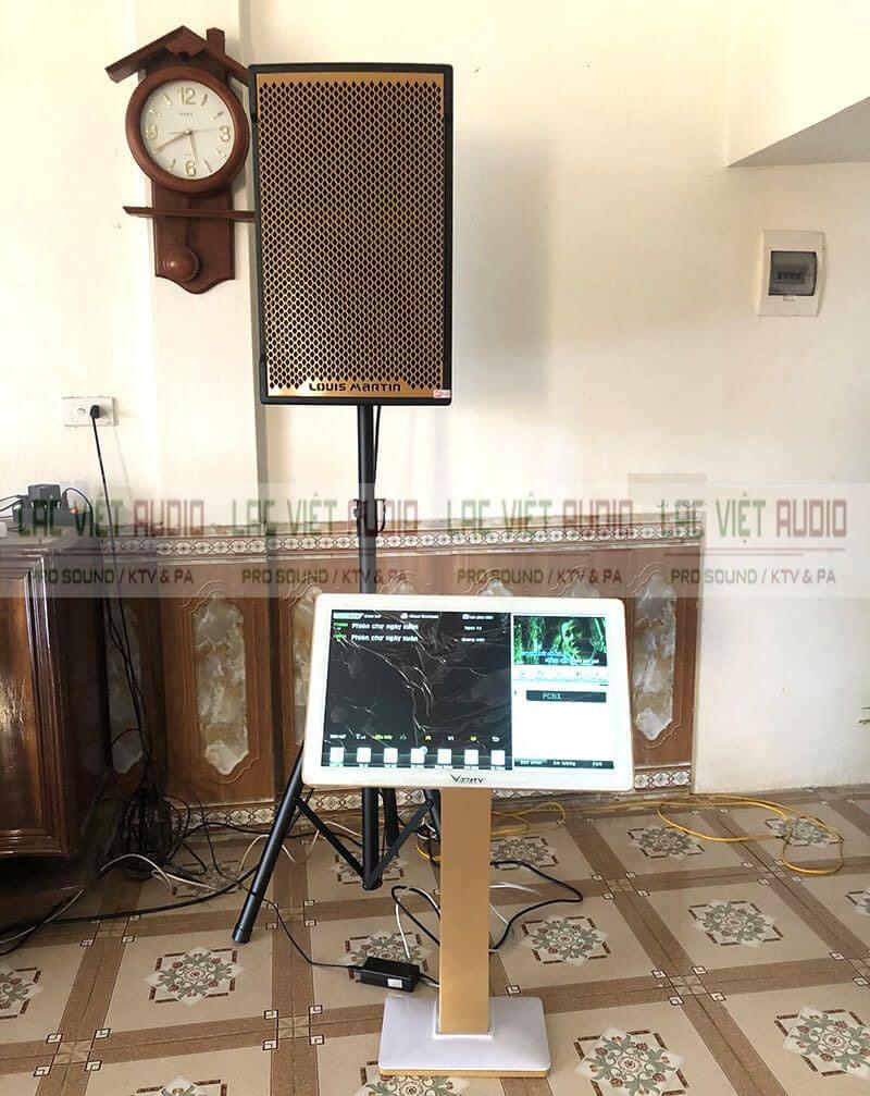 màn hình cảm ứng chọn bài VietKTV 22 inch