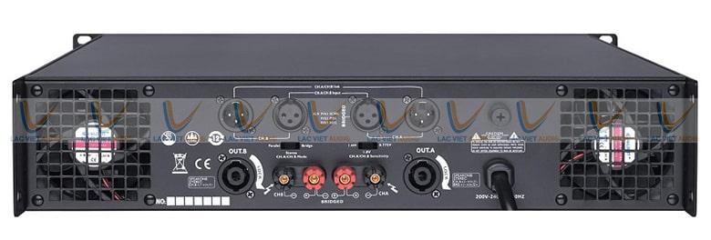 Dễ dàng kết nối với các thiết bị âm thanh khác để tạo nên dàn âm thanh chuyên nghiệp