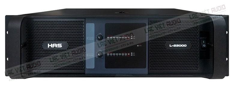 HAS- L22000 là dòng cục đẩy 2 kênh cao cấp đến từ thương hiệu nổi tiếng của Đức