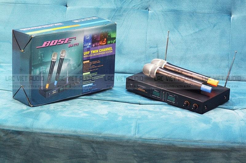 Micro không dây Bose BS-777 chính hãng tại Lạc Việt Audio