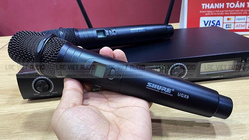 Micro SHURE UGX9 chính hãng