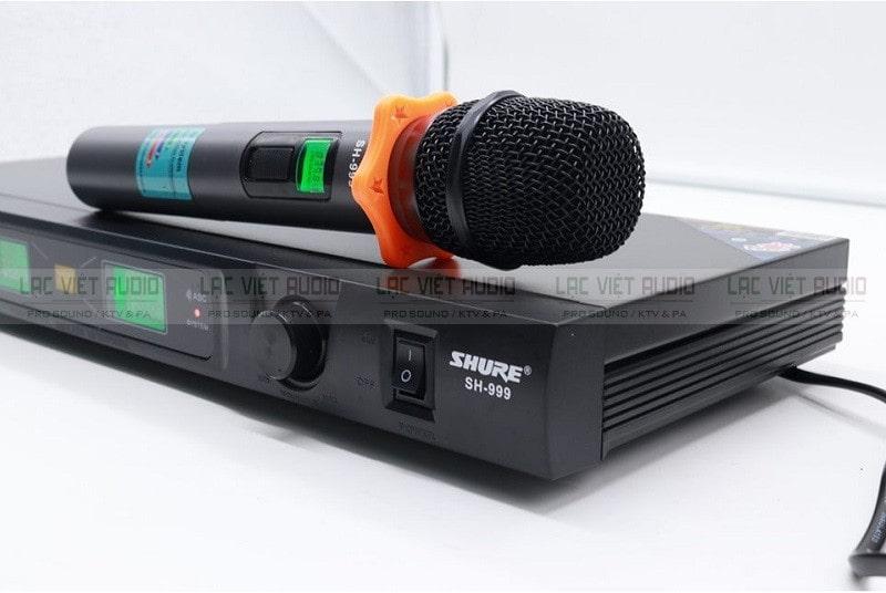 Micro SHURE SH999 có khả năng chống hú, chống rít cực tốt