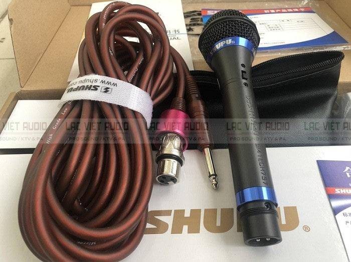 Trọn bộ micro SHUPU SM-757 đầy đủ các thiết bị và linh kiện