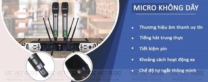 Tính năng quan trọng của micro OBT 8280