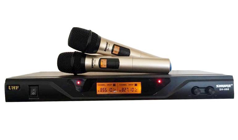 Micro không dây Shure SH 888: Giá 930.000đ