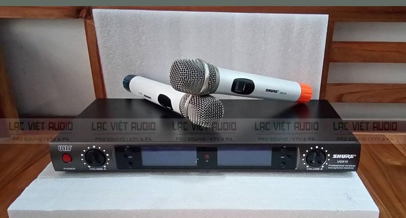 micro không dây SHURE UGX10 chính hãng tốt nhất